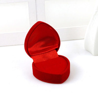 heart box  red