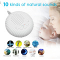 White Noise Machine USB Rechargeable Timed Shutdown Sleep Sound Machine For Sleeping & Relaxation for Baby Adult Office Travel preview-2