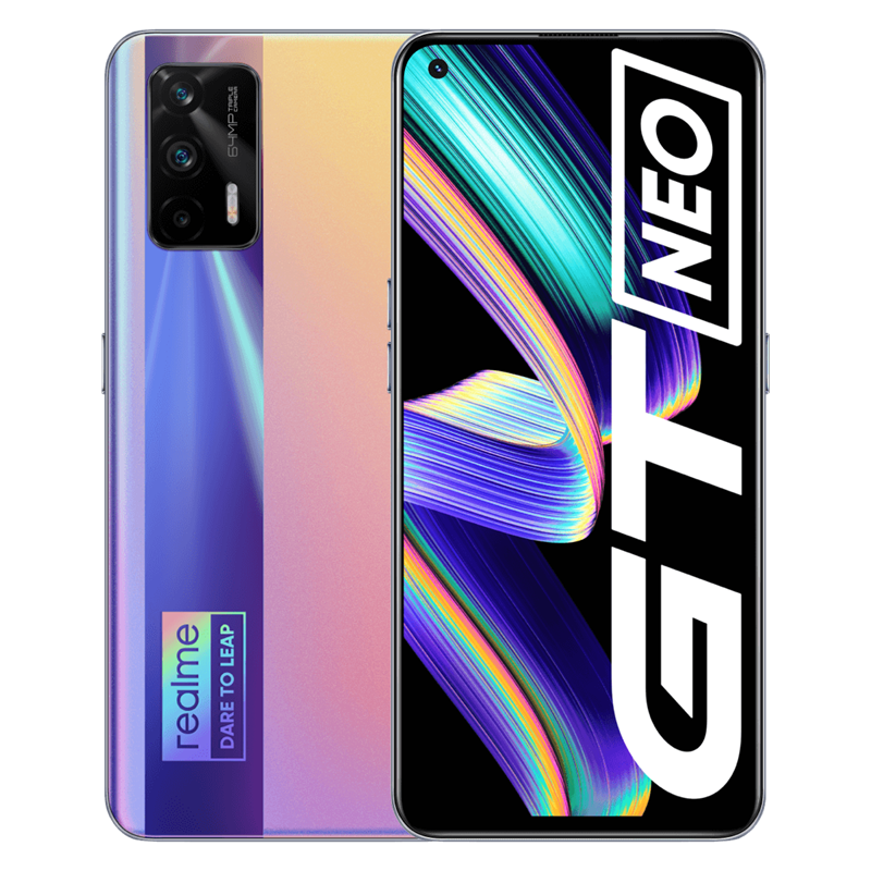 """Original realme GT Neo 5G smart phone  6.43""""120Hz Super AMOLED MTK Deminsty 1200 50W 4500mAh Fast Charge 64MP Camera Global ROM preview-2"""