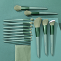 13PCs Makeup Brushes Set Soft Concealer Eyeshadow Foundation Blush Lip Eyebrow Brushes Set For Face Make-up Cosmetic Tools Kit preview-3