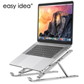 Portable Laptop Stand Aluminium Foldable Notebook Support Laptop Base Macbook Pro Holder Adjustable Bracket Computer Accessories preview-1