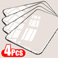 4Pcs Full Cover Tempered Glass For Xiaomi Redmi Note 9 8 7 9S 10 Pro Max Screen Protector For Poco F3 X3 M3 X3 Pro NFC Glass preview-1