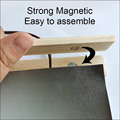 Magnetic Wooden Portrait Photo Frame Canvas Frame Art Belt Suction Iron Poster Frame Family Christmas Home Gifts 21-70cm preview-3