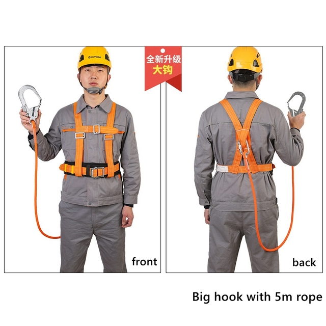 with 5m rope