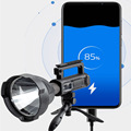 2 Model Powerful LED Light With Stand Outdoor Multi-function Searchlight Camping Flashlight USB Charging Waterproof Rechargeable preview-4