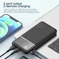 KUULAA Power Bank 10000mAh Portable Charging PowerBank 10000 mAh USB PoverBank External Battery Charger For Xiaomi Mi 9 8 iPhone preview-6