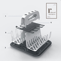 Baby Bottle Drying Rack  with Tray High Capacity Cup Holder for Infant Feeding Accessories BPA Free Deluxe Dry Station preview-4