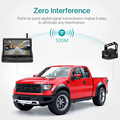 GreenYi Wireless 1080P 5 Inch Foldable IPS Car Monitor Reverse Rear View Camera Driving Kit with Stable Digital Signal preview-3