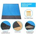 2x2.1m Waterproof Pocket Beach Blanket Folding Camping Mat Mattress Portable Lightweight Mat Outdoor Picnic Mat Sand Beach Mat preview-3