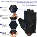 NEWBOLER Shockproof GEL Pad Cycling Gloves Half Finger Sport Gloves Men Women Summer Bicycle Gym Fitness Gloves MTB Bike Gloves preview-2