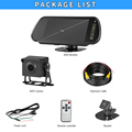 AHD 1080P Truck Reverse Reversing Camera & 7 Inch AHD RearView Monitor Backup Wired Kit for Truck Box RV and Heavy Duty Vehicles preview-6