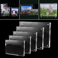 Christmas Gift Acrylic Clear Photo Frame Creative Crystal Picture Frame Bedroom Deck Decor 55x82mm 60x90mm 75x105mm 100 x150mm preview-6