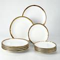 12pc white plate