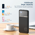 KUULAA Power Bank 10000mAh Portable Charging PowerBank 10000 mAh USB PoverBank External Battery Charger For Xiaomi Mi 9 8 iPhone preview-5