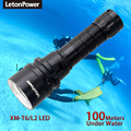 Professional Diving Light 200 Meter L2 Waterproof IPX8 Underwater LED Flashlight Diving Super Brightness Tactical Scuba Diving preview-2