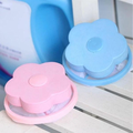 1Pc Plum-shaped Washing Machine Hair Removal Device Filtration Mesh Filter Bag Clothing Cleaning Necessary Laundry Ball preview-3