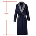 Thicken Warm Couple Style Flannel Robe Winter Long Sleeve Bathrobe Sexy V-Neck Women Men Nightgown Lounge Sleepwear Home Clothes preview-6