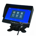 7 inch IPS 2 split screen 1024*600 AHD Car Monitor Driving recorder DVR, Cameras optional preview-5