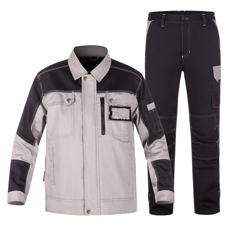 100% Cotton Welding Suit Work Clothes Men Women Repairmen Anti Static Mechanical Workshop Uniform Durable Electric work Coverall
