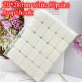 White 20x28mm 50Pair