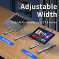 NEW MC N8 Adjustable Laptop Stand Aluminum for Macbook Tablet Notebook Stand Table Cooling Pad Foldable Laptop Holder preview-2