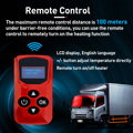Hcalory All In One Diesel Air Car Heater Host 8KW Adjustable 12V LCD English Remote Control Integrated Parking Heater Machine preview-4