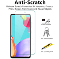 3 Sheets Screen Protector Glas For Samsung Galaxy A52 5G A51 A50 A03S A22 A12 A32 A72 M12 M22 M32 Transparent Clean Sklo Cover preview-4