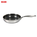 AIWILL New Kitchen High Quality 316 /304 Stainless Steel Frying Pan Nonstick Pan Fried Steak Pot Electromagnetic Furnace General preview-6