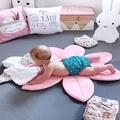 Foldable Baby Bath Bub Pad Cute Baby Flower Bath Mat Infant Bath Lotus Cushion Children Bath Safety Pad preview-4
