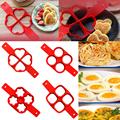 Pancake Maker Egg Ring Maker Nonstick Easy Fantastic Egg Omelette Mold Kitchen Gadgets Cooking Tools Silicone preview-5