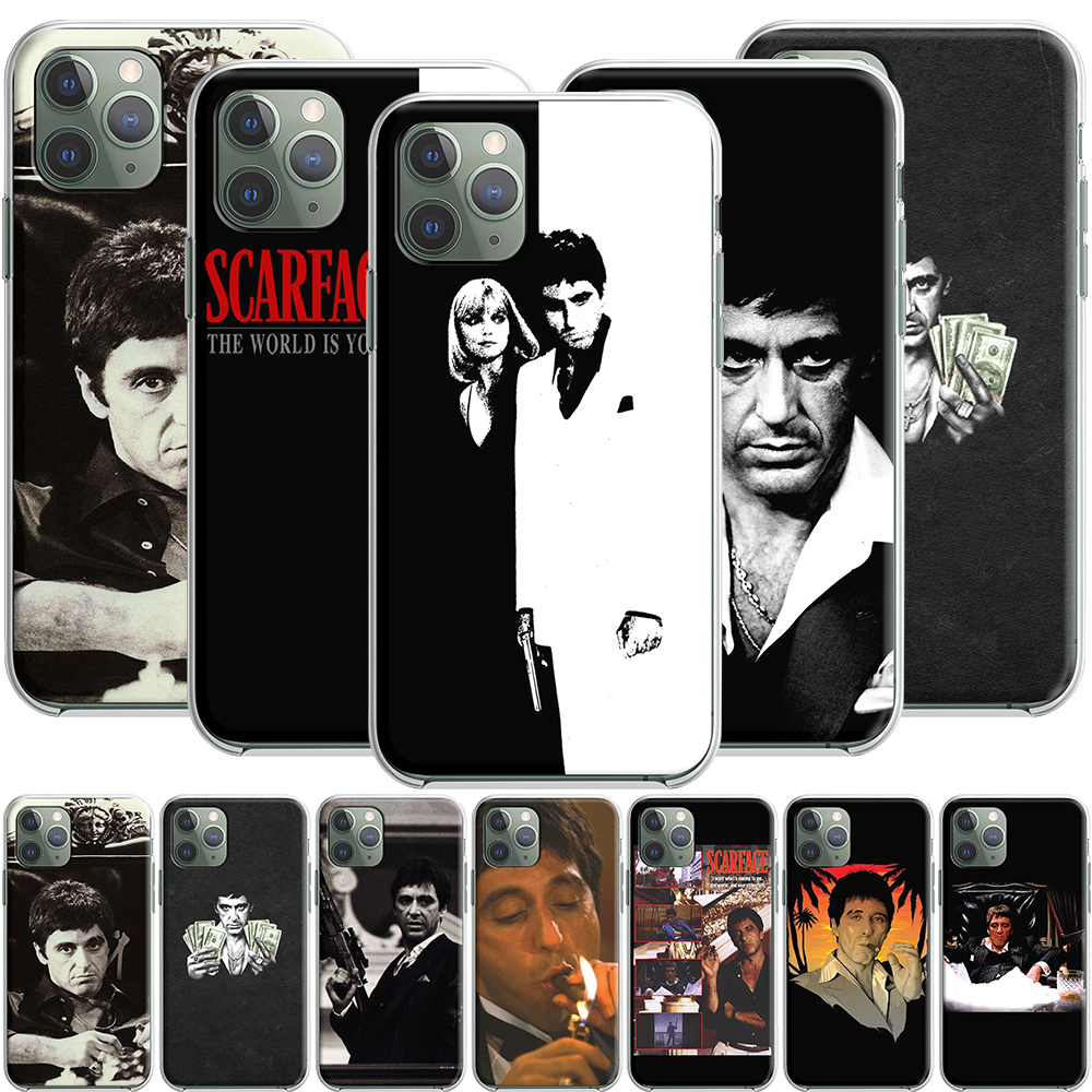 Scarface Tony Montana Silicone Case for Apple iPhone 12 Mini 11 Pro SE XS X XR Max 8 7 6S 6 Plus 5S