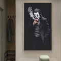 Joker Joaquin Phoenix Canvas Painting Comics Movie Posters And Prints Cuadros Wall Art Pictures For Living Room Home Decoration preview-3