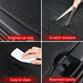 Leather trunk For Tesla model y trunk mat accessories model Y tesla Y accessoires All-inclusive back box cushion 7pcs/set preview-4