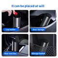 Baseus Alloy Car Trash Can Auto Organizer Storage Bag Car Garbage Bin Ashtray Dust Case Holder Auto Accessories preview-5