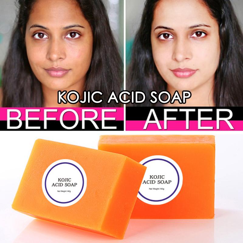 100g Kojic Acid Soap Dark Black Skin Lightening Soap Hand made Soap Glutathione Whitening Soap Skin Bleaching Soap Brighten Face
