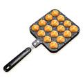 Takoyaki Pan Octopus Small Balls Cast Aluminium Pan Household Baking Cooking Tools Kitchen Cookware Grill Pan preview-4