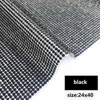 black 24x40cm