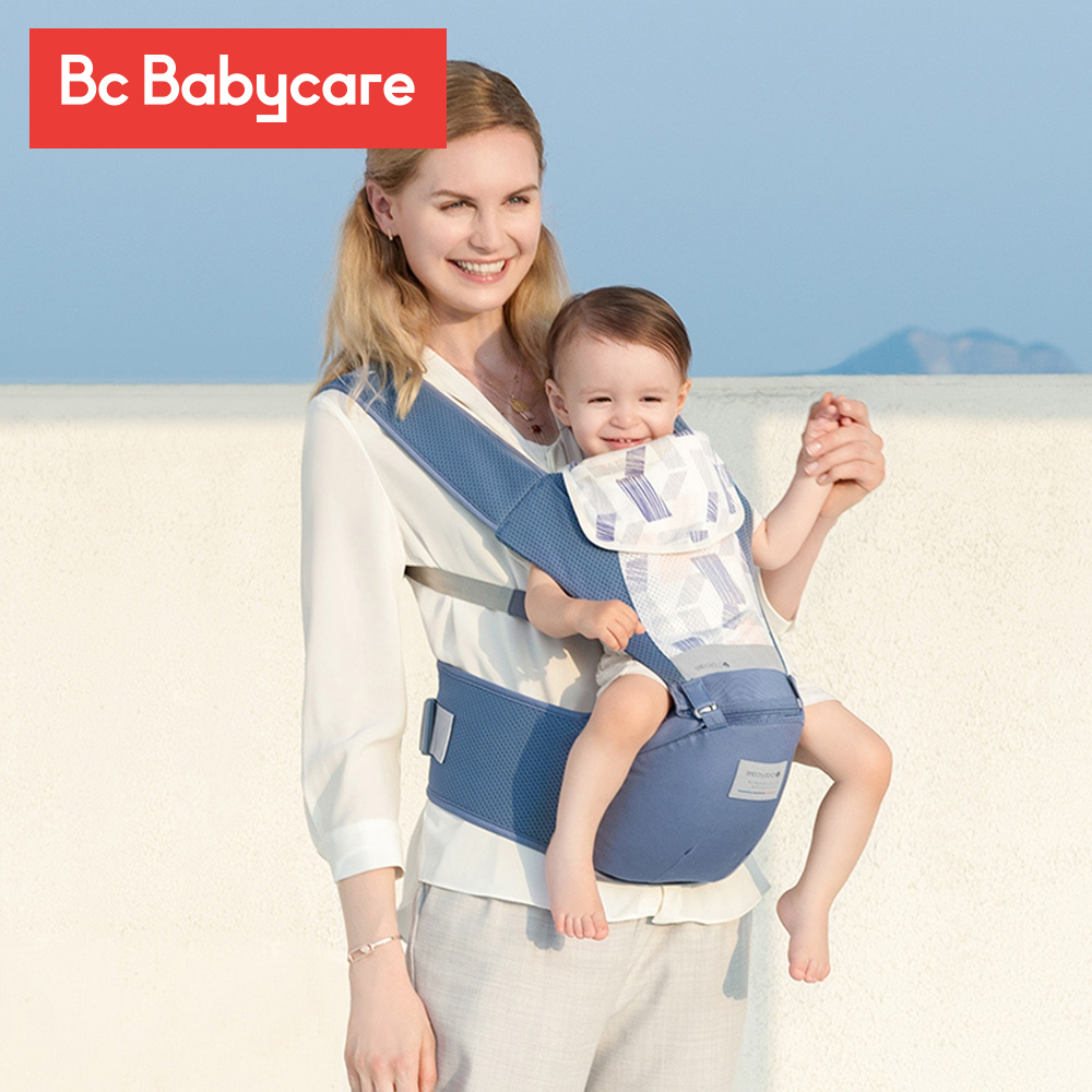 BC Babycare Ergonomic Baby Carrier Infant Adjustable Hipseat Sling Front Facing Travel Activity Gear Kangaroo Baby Wrap Carrier