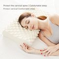 SElune Pure Natural latex thailand Remedial Neck sleep pillows Protect Vertebrae Health Care Orthopedic Bedding Cervical Pillow preview-2