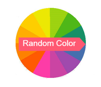 1pcs colour random