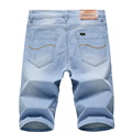 2020 Summer New Men's Denim Shorts Classic Black Blue Thin Section Fashion Slim Business Casual Jeans Shorts Male Brand preview-6