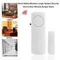 Door Window Wireless Burglar Alarm with Magnetic Sensor Home Safety Wireless Longer System Security Device White Wholesale preview-4