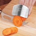 Adjustable Stainless Steel Finger Protector Guard Safe Slicer Kitchen Must Have!  preview-2