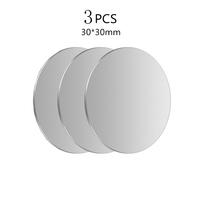 3Pcs Silver 30x30