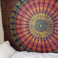 Indian Mandala Tapestry Wall Hanging Sandy Beach Throw Rug Blanket Camping Tent Travel Mattress Bohemian Sleeping Pad Tapestry preview-2