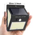 228 144 LED Solar Light Outdoor Solar Lamp PIR Motion Sensor Light Waterproof Solar Powered Sunlight for Garden Decoration preview-2