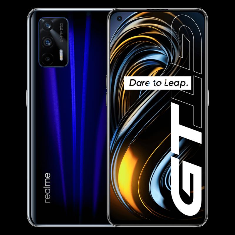 Original Realme GT 5G smartphone Google 120Hz 6.43'' Super AMOLED Snapdragon 888 Glass 4500mAh 65W Super Charge global ROM NFC preview-3