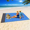 2x2.1m Waterproof Pocket Beach Blanket Folding Camping Mat Mattress Portable Lightweight Mat Outdoor Picnic Mat Sand Beach Mat preview-2