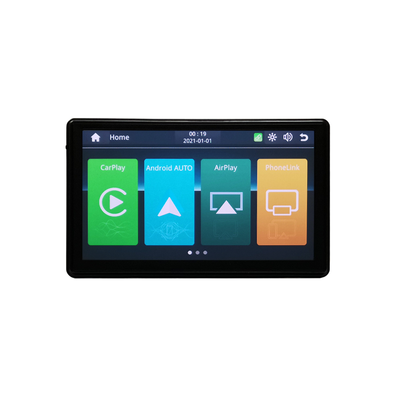 Portable Apple CarPlay Android Auto Monitor AirPlay Phone Mirror Link Display for Car Bus SUV Pickup Taxi Truck Lorry Van MPV preview-3