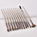 22 PCs Makeup Brushes Champagne Gold Premium Synthetic Concealers Foundation Powder Eye Shadows Makeup Brushes preview-6